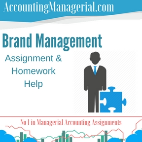 Brand Management Assignment & Homework Help