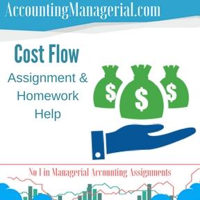 Cost Flow Assignment & Homework Help
