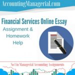 Financial Services Online Essay