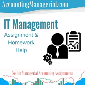 IT Management Assignment & Homework Help