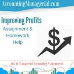 Improving Profits