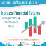 Increase Financial Returns