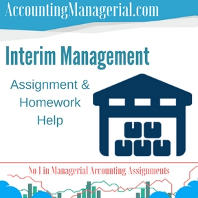 Interim Management Assignment & Homework Help
