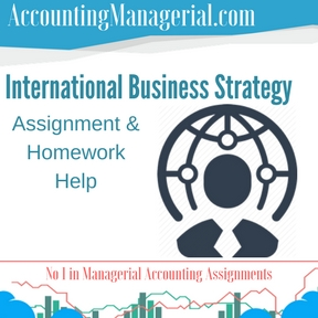 International Business Strategy Assignment & Homework Help