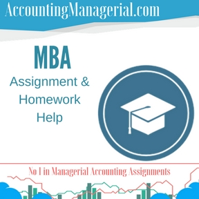 MBA Assignment & Homework Help