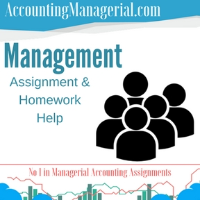Management Assignment & Homework Help
