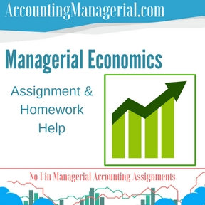 Managerial Economics Assignment & Homework Help