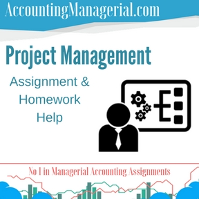 Project Management Assignment & Homework Help