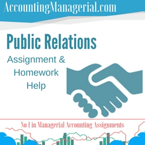 Public Relations Assignment & Homework Help