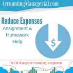 Reduce Expenses